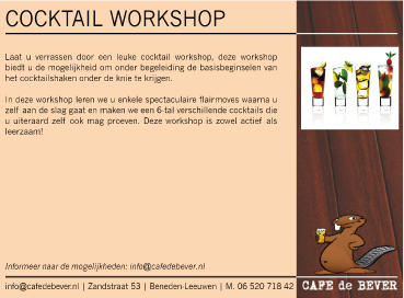 Coctail-workshop